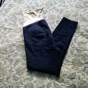 Loft maternity jeans EUC